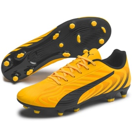 Buty piłkarskie Puma One 20.4 Fg Ag 105831 01 żółte 3