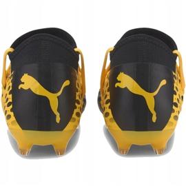 Buty piłkarskie Puma Future 5.3 Netfit Fg Ag Junior 105806 03 żółte 4
