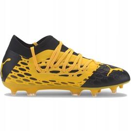 Buty piłkarskie Puma Future 5.3 Netfit Fg Ag Junior 105806 03 żółte 1