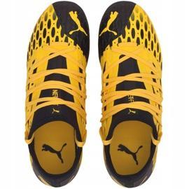 Buty piłkarskie Puma Future 5.3 Netfit Fg Ag Junior 105806 03 żółte 2