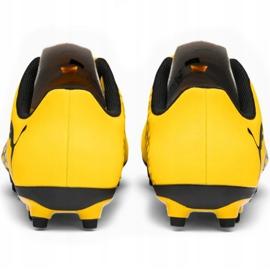Buty piłkarskie Puma Spirit Iii Fg Junior 106070 03 żółte 4