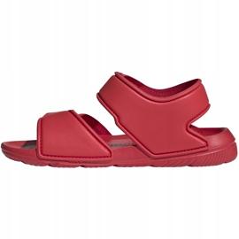 Sandały dla dzieci adidas Altaswim C czerwone EG2136 2