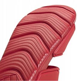 Sandały dla dzieci adidas Altaswim C czerwone EG2136 4