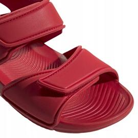 Sandały dla dzieci adidas Altaswim C czerwone EG2136 3