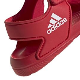 Sandały dla dzieci adidas Altaswim C czerwone EG2136 5