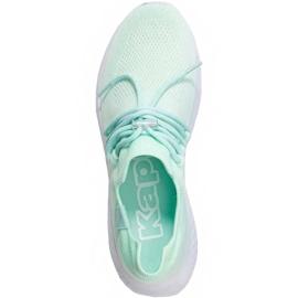 Buty damskie Kappa Zuc miętowo-białe 242818 3710 zielone 1
