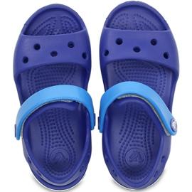 Crocs sandały dla dzieci Crocband Sandal Kids niebieskie 12856 4BX 1