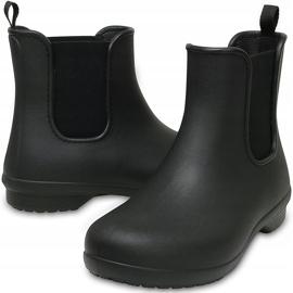 Crocs kalosze damskie Freesail Chelsea Boot W czarne 204630 060 2