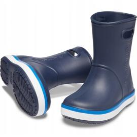 Crocs kalosze dla dzieci Crocband Rain Boot Kids granatowe 205827 4KB 3