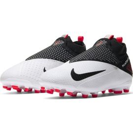 Buty piłkarskie Nike Phantom Vsn 2 Elite Df FG/MG Junior CD4062 106 wielokolorowe białe 3