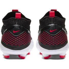 Buty piłkarskie Nike Phantom Vsn 2 Elite Df FG/MG Junior CD4062 106 wielokolorowe białe 4