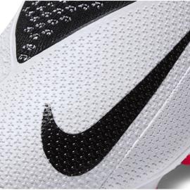 Buty piłkarskie Nike Phantom Vsn 2 Elite Df FG/MG Junior CD4062 106 wielokolorowe białe 6