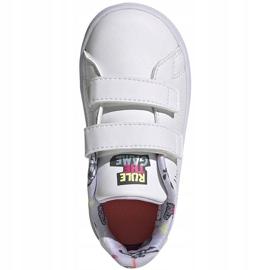 Buty dla dzieci adidas Advantage I białe EG3861 1