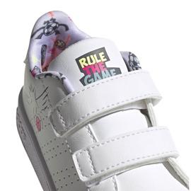 Buty dla dzieci adidas Advantage I białe EG3861 3