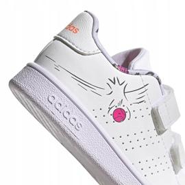 Buty dla dzieci adidas Advantage I białe EG3861 4