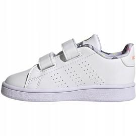 Buty dla dzieci adidas Advantage I białe EG3861 2