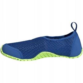 Buty do wody dla dzieci adidas Kurobe K niebiesko-limonkowe EF2239 niebieskie niebieskie 2
