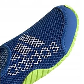 Buty do wody dla dzieci adidas Kurobe K niebiesko-limonkowe EF2239 niebieskie niebieskie 3
