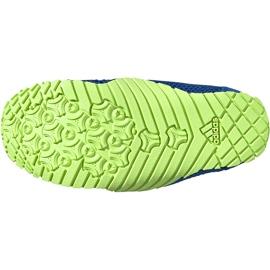 Buty do wody dla dzieci adidas Kurobe K niebiesko-limonkowe EF2239 niebieskie niebieskie 6