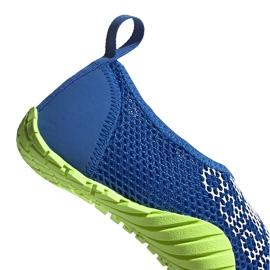 Buty do wody dla dzieci adidas Kurobe K niebiesko-limonkowe EF2239 niebieskie niebieskie 4