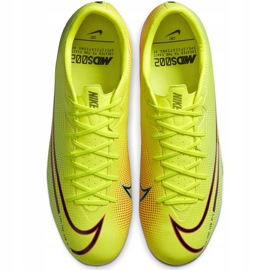 Buty piłkarskie Nike Mercurial Vapor 13 Academy Mds FG/MG CJ1292 703 żółte żółte 1