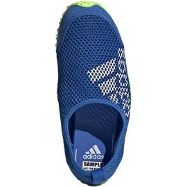 Buty do wody dla dzieci adidas Kurobe K niebiesko-limonkowe EF2239 niebieskie niebieskie 1