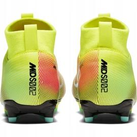 Buty piłkarskie Nike Mercurial Superfly 7 Academy Mds FG/MG Junior BQ5409 703 żółte żółte 4