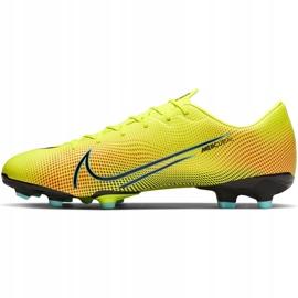 Buty piłkarskie Nike Mercurial Vapor 13 Academy Mds FG/MG CJ1292 703 żółte żółte 2