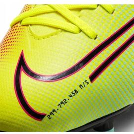 Buty piłkarskie Nike Mercurial Superfly 7 Academy Mds FG/MG Junior BQ5409 703 żółte żółte 6