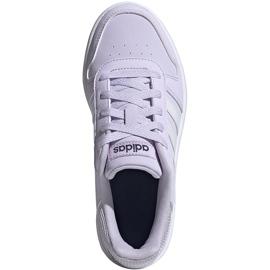 Buty dla dzieci adidas Hoops 2.0 K jasnofioletowe EG9075 1