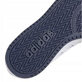 Buty dla dzieci adidas Hoops 2.0 K jasnofioletowe EG9075 5