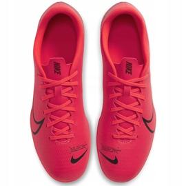 Buty piłkarskie Nike Mercurial Vapor 13 Club FG/MG AT7968 606 czerwone wielokolorowe 1