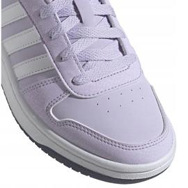 Buty dla dzieci adidas Hoops 2.0 K jasnofioletowe EG9075 2