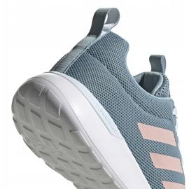 Buty damskie adidas Lite Racer Cln szaro-różowe EG3148 szare 4