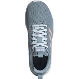 Buty damskie adidas Lite Racer Cln szaro-różowe EG3148 szare 1