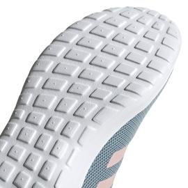 Buty damskie adidas Lite Racer Cln szaro-różowe EG3148 szare 5