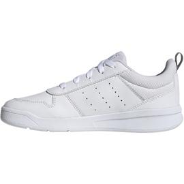 Buty dla dzieci adidas Tensaur K białe EG2554 2