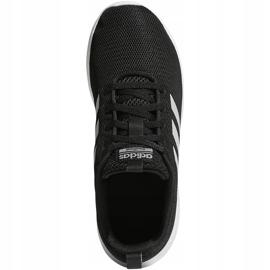Buty dla dzieci adidas Lite Racer Cln K czarno-białe BB7051 czarne 1