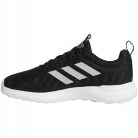 Buty dla dzieci adidas Lite Racer Cln K czarno-białe BB7051 czarne 2