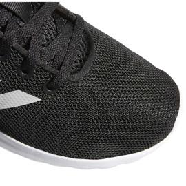 Buty dla dzieci adidas Lite Racer Cln K czarno-białe BB7051 czarne 3