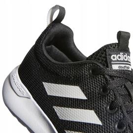 Buty dla dzieci adidas Lite Racer Cln K czarno-białe BB7051 czarne 4
