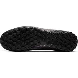 Buty piłkarskie Nike Mercurial Vapor 13 Academy Tf AT7996 010 czarne czarne 7
