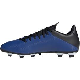 Buty piłkarskie adidas X 19.4 FxG niebieskie EF1698 1
