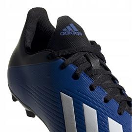Buty piłkarskie adidas X 19.4 FxG niebieskie EF1698 4