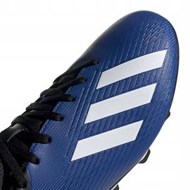 Buty piłkarskie adidas X 19.4 FxG niebieskie EF1698 3