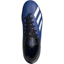 Buty piłkarskie adidas X 19.4 FxG niebieskie EF1698 2