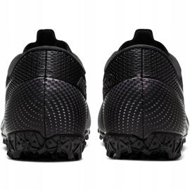 Buty piłkarskie Nike Mercurial Vapor 13 Academy Tf AT7996 010 czarne czarne 6