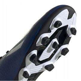Buty piłkarskie adidas X 19.4 FxG niebieskie EF1698 5