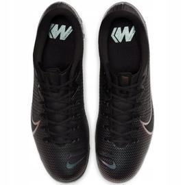 Buty piłkarskie Nike Mercurial Vapor 13 Academy Tf AT7996 010 czarne czarne 1