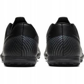 Buty piłkarskie Nike Mercurial Vapor 13 Club Tf Junior AT8177 010 czarne czarne 4